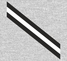 Black & White Stripes One Piece - Long Sleeve