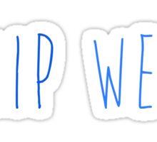 I ship Wessa Sticker
