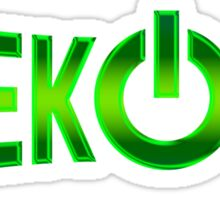 Geek On Sticker