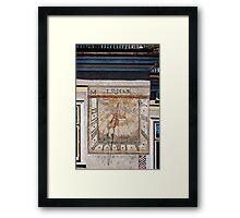 The 1503 sun dial Framed Print