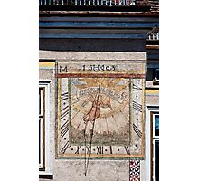 The 1503 sun dial Photographic Print