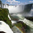 Iguaçu Falls Rainbow Brazil by Zach Chadim