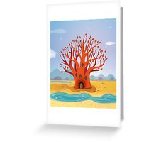 The Bunyip Tree Greeting Card