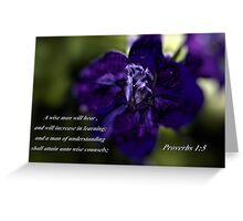 A Wise Man... Greeting Card