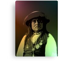 Chief Josh - San Carlos Apache Canvas Print