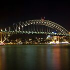 bridge over vivid water by Husher