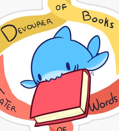 Devourer of Books Sticker