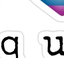 I Heart Equality - Free Form Sticker Sticker