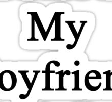 Cancer Will Not Stop My Boyfriend He Is A Soccer Coach  Sticker