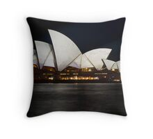 Vivid Opera Throw Pillow