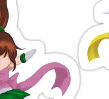 Sailor Jupiter and Sailor Venus Sticker