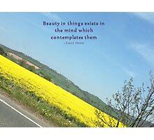 Beauty Photographic Print