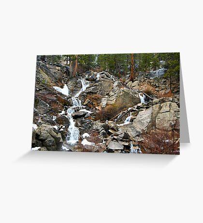 Grover Hot Springs, California Greeting Card