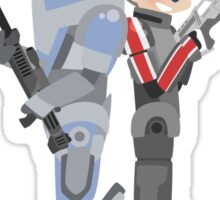 Mass Effect - No Shepard without Vakarian Sticker