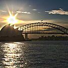 Sydney Opera House and Bridge by Zach Chadim