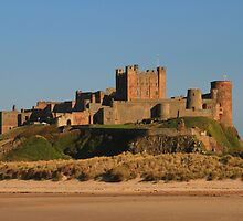 The Romantic Bamburgh Castle and Lindisfarne Castle by Paul Bettison