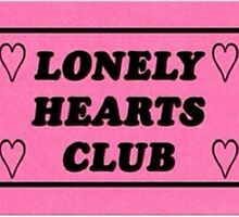 Lonely Hearts Club  by lazyville