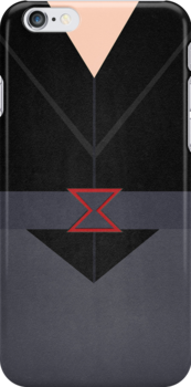 IPHONE CASE - Black Widow by beauvoire
