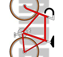 The Bicycle. Ride. Sticker (please see description) and Card by Ra12