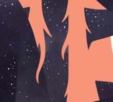 Space Girl 2 Sticker