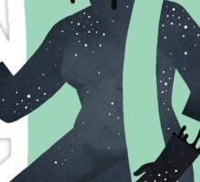 Space Girl 7 Sticker