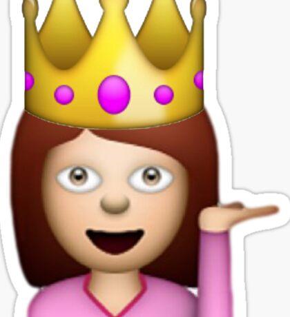 Princess Hair Toss emojis  Sticker