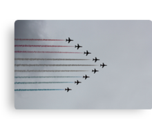 Red Arrows horizontal Canvas Print