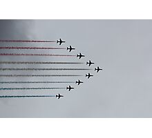 Red Arrows horizontal Photographic Print