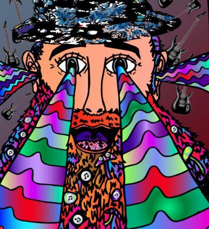 Wise Man of Music Sticker