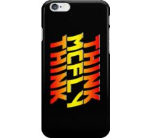 Think, McFly, Think  iPhone Case/Skin