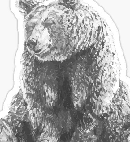 Lonely Bear Sticker