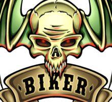 Winged Skull 2 Sticker