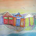 Boatsheds by Gerda  Smit