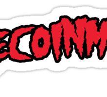 Dogecoinmania Sticker