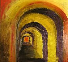 Portal through the Mystical Monastery by Jack Bybee