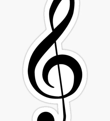 Treble Clef Musical Musician Baby Jumpsuit T-Shirt Bedpsread Duvet Sticker Sticker