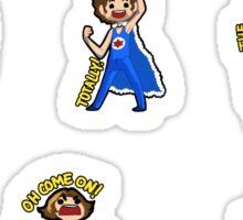 1 Inch Tall Game Grumps Sticker Pack Sticker
