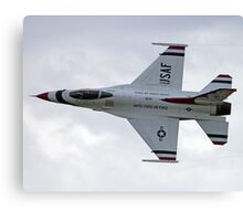 U.S. Air Force Thunderbirds Solo Canvas Print