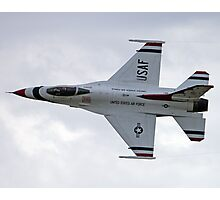 U.S. Air Force Thunderbirds Solo Photographic Print