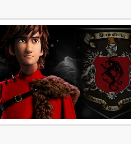 Durmstrang Hiccup Sticker