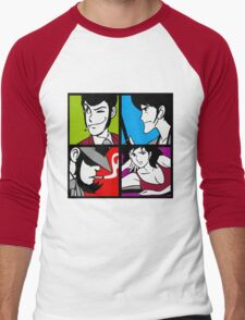 Lupin the third and his friends Men's Baseball ¾ T-Shirt