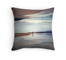Ghost on the Shore Throw Pillow