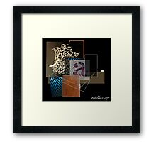 """Turn Anxieties Into Pleasure"" Framed Print"