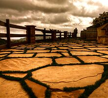 Flagstone Vista by Benjamin Curtis