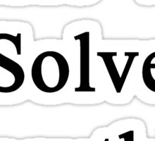 Music Will Solve Everything  Sticker