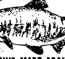 Fineagas' Fish Shack Sticker