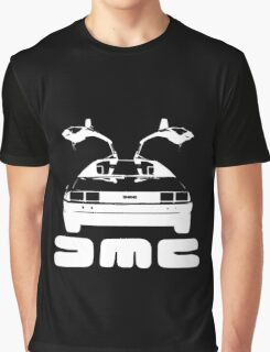 DeLorean DMC NEGATIVE Graphic T-Shirt