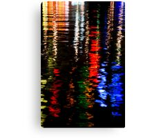 Water Colours III Canvas Print