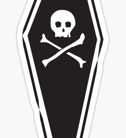 Dead Bed Sticker