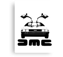 DeLorean DMC Canvas Print
